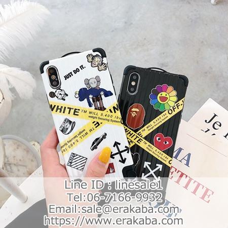 off white iphone11カバー aape cdg人気作